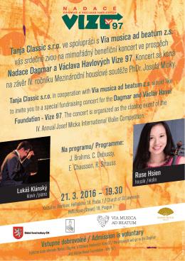 Rose Hsien - KoncertniAgentura.cz