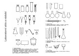 Laboratorní sklo a nádobí