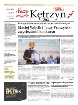 Maciej Wójcik i Jerzy Pruszyński zwycięzcami konkursu
