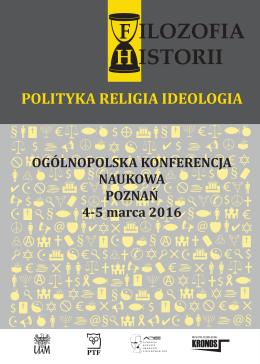 Program konferencji i księga abstraktów
