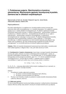 Ćwiczenie 1 - Politechnika Gdańska