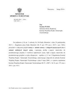 Pismo do Komisji Wspólnej - przeszukiwalny