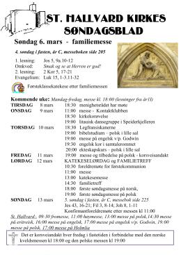 12. mars - St. Hallvard