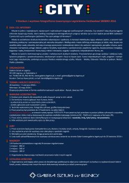 Tutaj można pobrać regulamin w pdf.