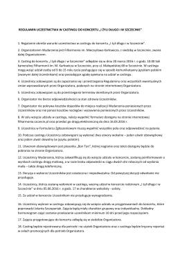 Regulaminem - filharmonia.szczecin.pl