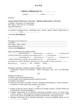 Wzór umowy sprzedaży_dla pozycji 9