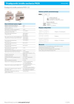 Karta techniczna 2016-02-21