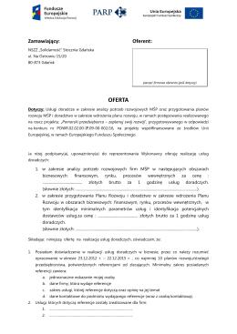 OFERTA - NSZZ Solidarność Stoczni Gdańskiej