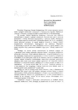 Page 1 ..`.`.` Rzesz6w , 23 .02 .20\6 t . Rzecznik Praw Obpvatelskich