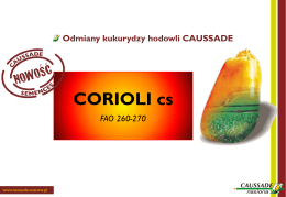CORIOLI cs FAO 260-270
