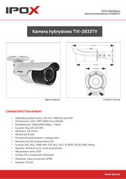 Karta katalogowa TVI1202TV