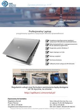 Laptop dla Aplikanta – Egzamin 2016(2)