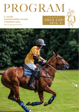 PROGRAM - Prague Polo Cup 2015