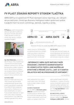 Podnikatelský příběh ke stažení v PDF