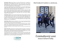 program_Ceskobudejovicky sextet