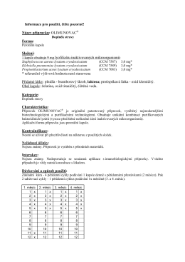 OLIMUNOVAC - S&D Pharma CZ