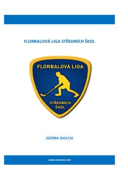 florbalová liga středních škol sezóna 2015/16