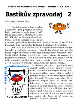 Bastíkův zpravodaj 2