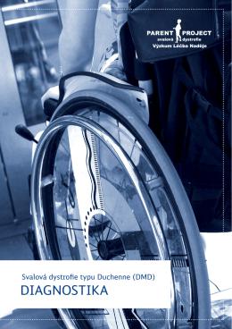 Diagnostika - Svalová dystrofie typu Duchenne (DMD)