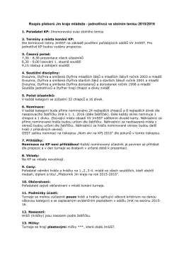 Rozpis KP JmSST 2015-2016