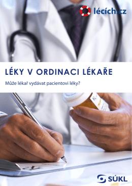 Výdej léků v ordinaci lékaře