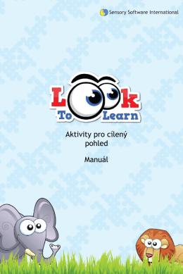 Aktivity pro cílený pohled Manuál