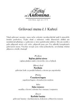 Recepty ve verzi PDF