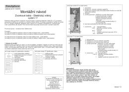 Zvonková tlačítka bez komunikace - 4+n - 6 a 10 tl.