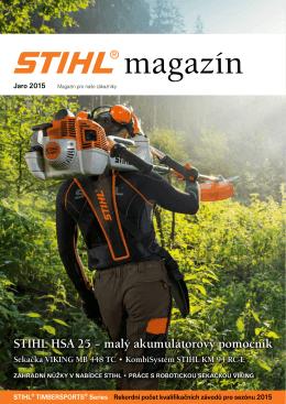 STIHL HSA 25 – malý akumulátorový pomocník