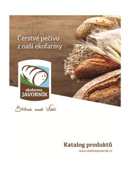 katalog pečiva - Ekofarma Javorník