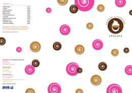 Kavárna a cuKrárna vřesová LIHovInY (4 cl)