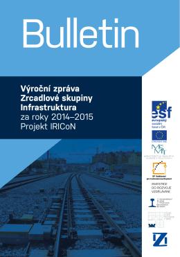 výroční zpráva zrcadlové skupiny infrastruktura za roky 2014–2015