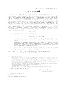 863584-1099-13 dv - Exekutorský úřad Český Krumlov