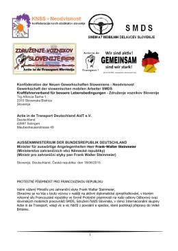 Konföderation der Neuen Gewerkschaften Sloweniens