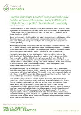 tiskové zprávě z konference - prof. MUDr. Tomáš Zima, DrSc.