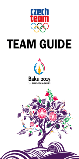 Team Guide 2015 (EH Baku)