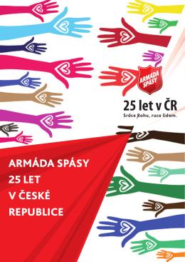 25 let v ČR - Armáda spásy