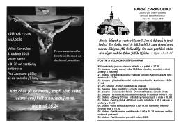 FZ 33 - Římskokatolická farnost Velké Karlovice