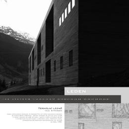 Kalendář Peter Zumthor 6x2