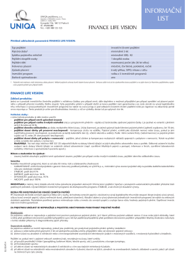 Informační list (EU 8547/4)