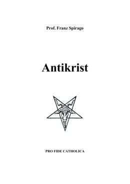 Antikrist - Franz Spirago - Varovanie a Druhý príchod Ježiša Krista