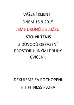 konec st.tenis - HIT Fitness Flóra