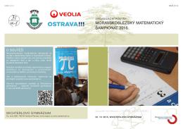 Informace pro soutěžící 2015 - Moravskoslezský matematický