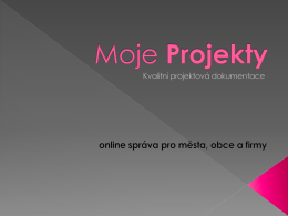 Prezentace v PDF - Moje