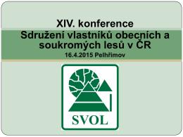 Zpráva o činnosti SVOL v r. 2014, priority SVOL v r. 2015