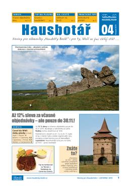 04 Hausbotář - Hausbóty Bockl