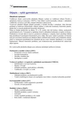 Dějepis PDF - Gymnázium Blovice