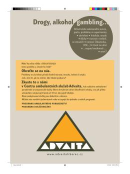 Drogy, alkohol, gambling