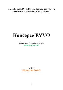 Plán EVVO - MŠ Dr. E.Beneše, Kralupy nad Vltavou