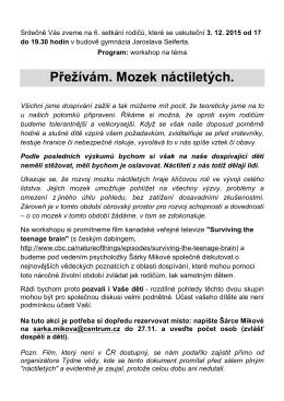 ZDE - Gymnázium Jaroslava Seiferta